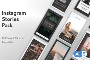 Videohive Minimal Instagram Stories 22945207