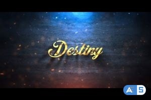 Videohive Gold Logo Reveal v.1 21875332