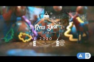 Videohive Christmas Postcard And Opener 2020 25296403