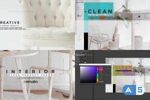 Videohive Clean Interior Product Promo 25350525