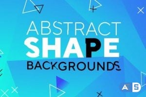 Videohive Abstract Shape Backgrounds 25847487