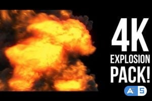 Videohive 4K Explosions Pack 22348477