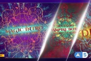 Videohive Magic Intro/ Elegant Particles/ Gothic Epic Metal 3D/ TV/ Shockwave/ Fire Explosion/Mystical Light 25692603