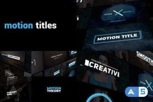 Videohive Dynamic Titles 23837540