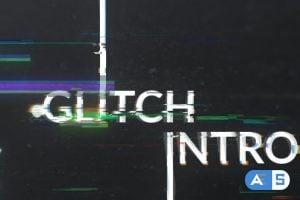 Videohive Geometric Glitch Logo Reveal 21125730