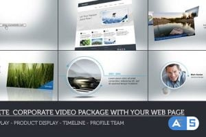 Videohive Web Corporate Package 7053742