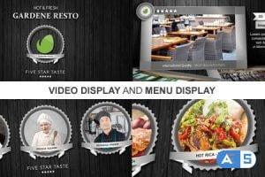 Videohive New Restaurant Presentation II 9129382