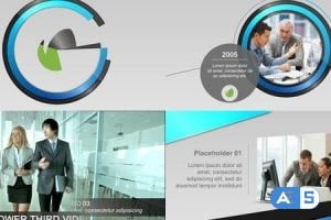 Videohive Corporate Display and Timeline II 8722142