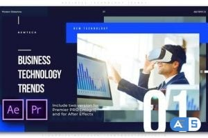 Videohive Business Technology Trends 25803026