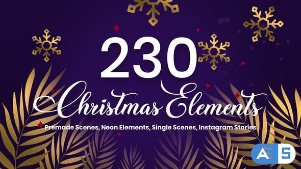 Videohive Christmas Pack 25148454