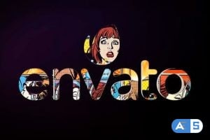 Videohive 3D Comic Logo Reveal 23640611