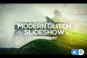 Videohive Modern Glitch Slideshow for Premiere Pro 25730594