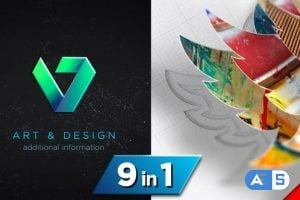 Videohive Drawing 3D Logo Reveal V3 24094750