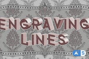 Videohive Engraving Lines 4407455