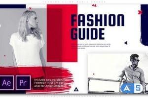Videohive Fashion Guide Media Opener 25719580