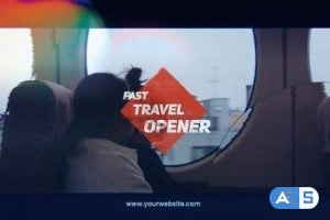 Videohive Fast Travel Opener 20820805