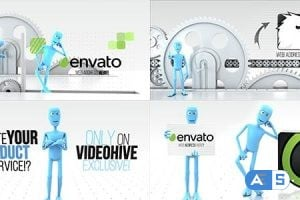 Videohive Funny Character – Logo Reveal Bundle 15310411