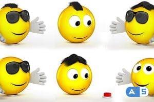 Videohive Funny Emoji Logo Reveal 20470426