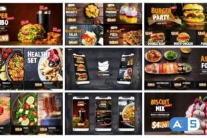 Videohive Food and Restaurant Promo | Instagram Stories 24535586