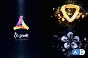 Videohive Glossy|Silver|Gold Logo Reveal 23882663