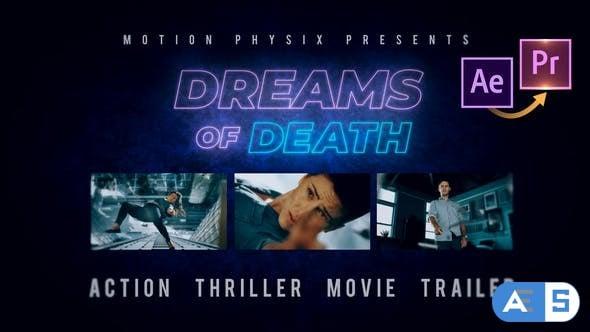Videohive Action Thriller Movie Trailer Premiere PRO 25828977