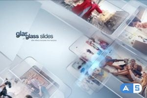 Videohive Modern Glass Slide 24199278