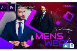 Videohive Menswear Fashion Opener 25766137