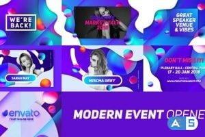 Videohive Modern Event Opener 21196202