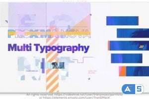 Videohive Multi Typo 25594387
