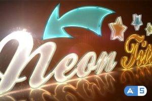 Videohive Neon Titles 3738942