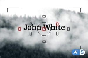 Videohive Photographer – Logo Reveal 8016977