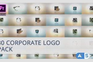 Videohive 30 Corporate Logo for Premiere Pro 25717375