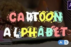 Videohive Cartoon Alphabet | After Effects 25622907
