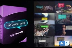 Videohive Text Box Kit Pack 24356452