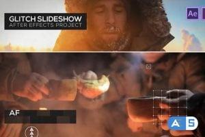 Videohive Glitch Slideshow 21863925