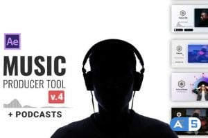 Videohive Audio Visualization // Music Producer Tool V3 24314482