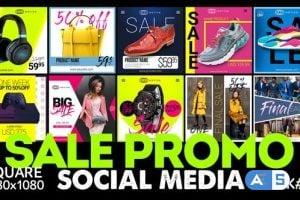 Videohive Social Media – SALE Promo 25609077