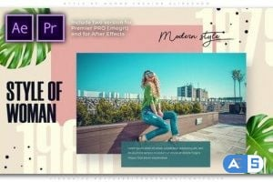 Videohive Style of Woman Fashion Slideshow 25802995
