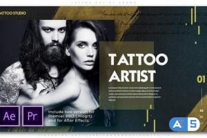 Videohive Tattoo Artist Promo 25719621