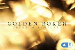 Videohive Golden Bokeh 25704268