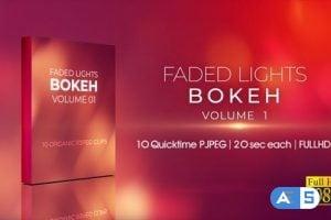 Videohive Faded Lights Bokeh V1 25038345