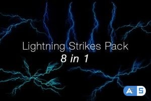 Videohive Lightning Pack – 8 in 1 20418063