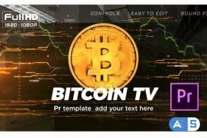 Videohive Bitcoin Trading Opener   Premiere Pro 25506410