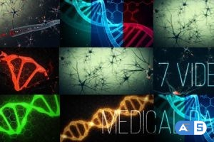 Videohive Medical Animations Pack 20102396