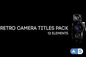 Videohive Retro Camera Titles Pack 18119638