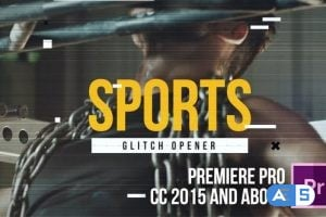 Videohive Action Glitch Opener 23259697