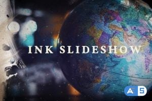 Videohive Ink Slideshow 23692668
