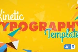 Videohive Kinetic Typography 8523088