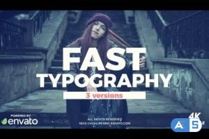 Videohive Fast Typography 20694062