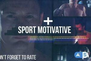 Videohive Sport Motivative // Dynamic Glitch 11724733